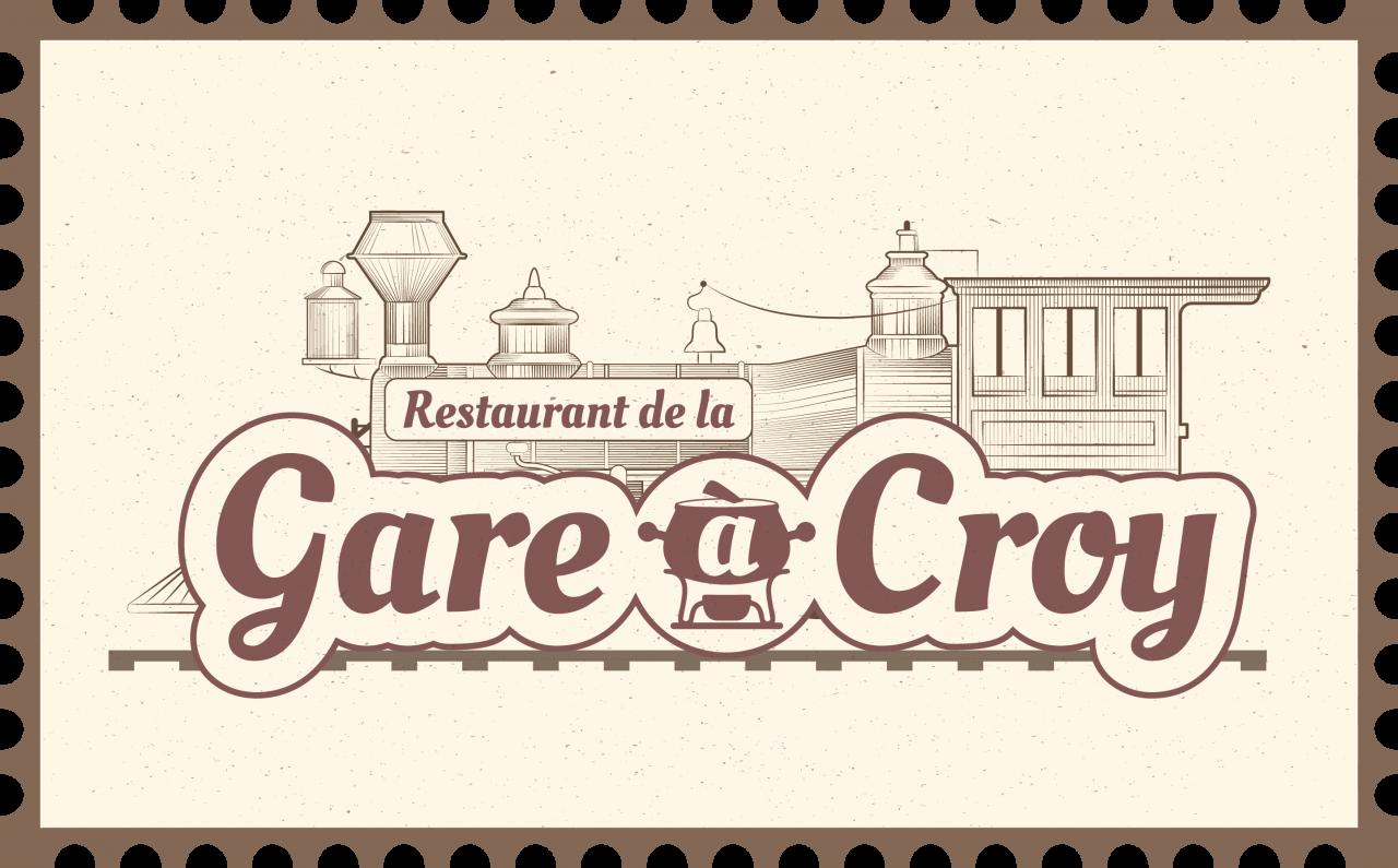 Restaurant de la Gare à Croy